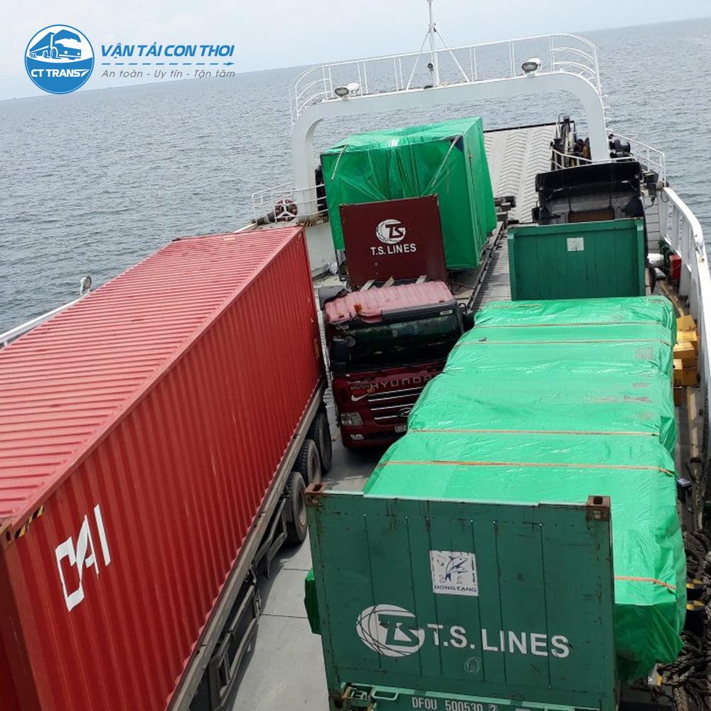Vận chuyển hàng hóa Sài Gòn đi Phú Quốc