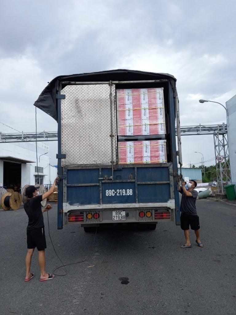 vận chuyển hàng hóa  từ TP.HCM (Sài Gòn) Đi Hà Nội